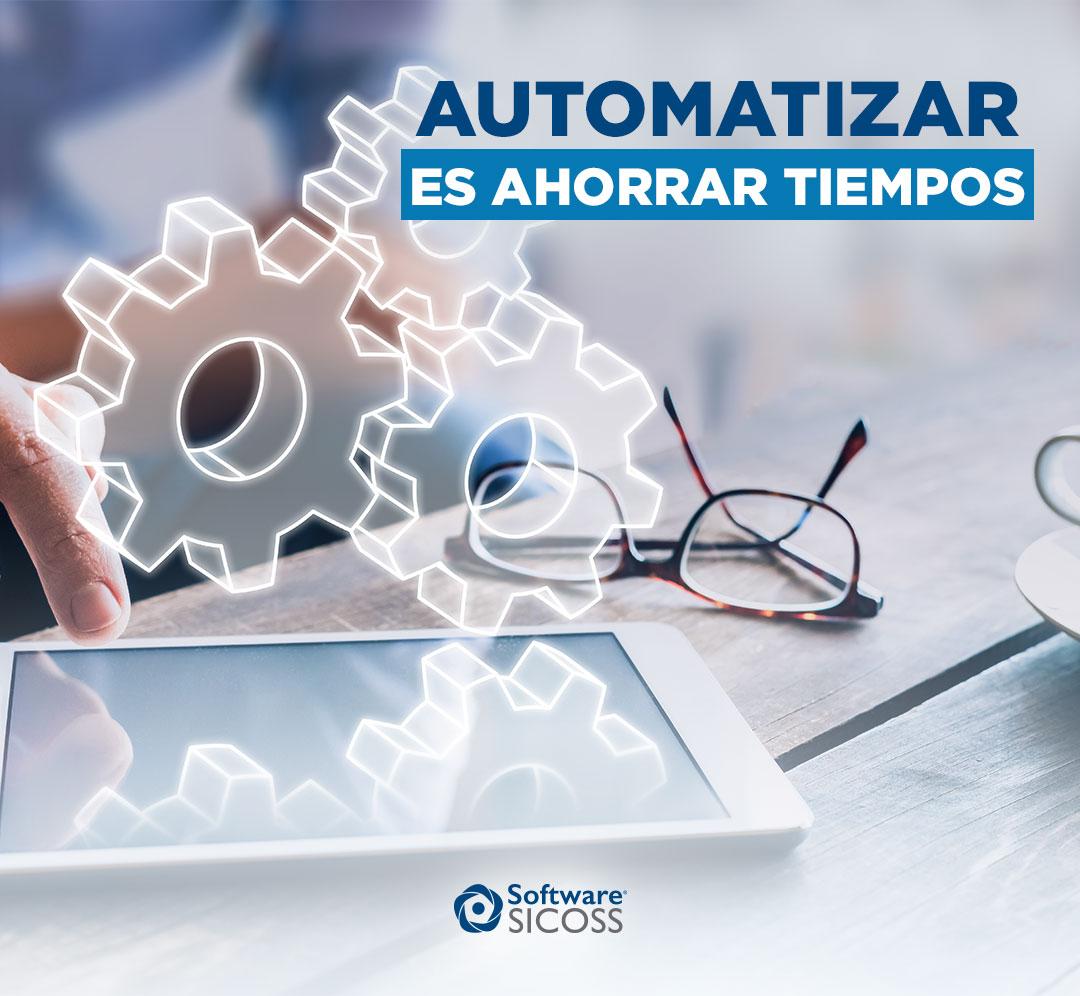 automatización de procesos es ahorrar tiempo